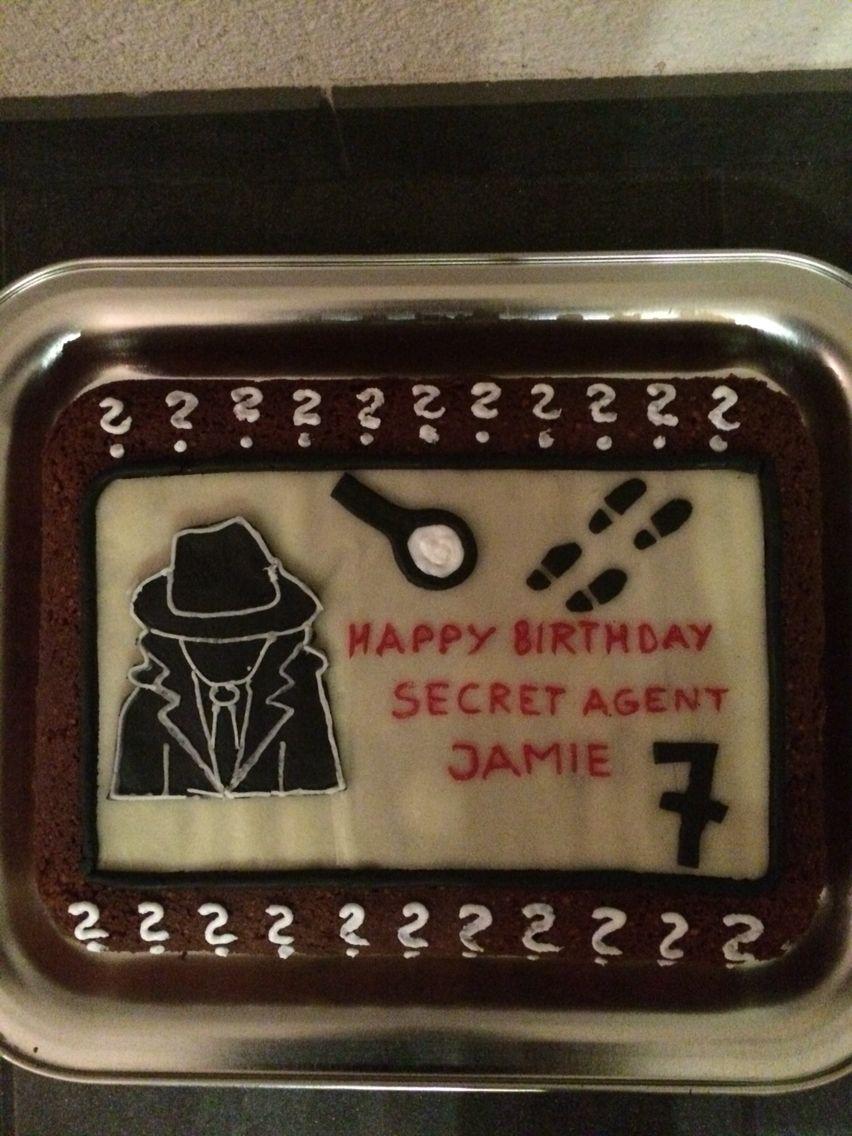 Detektiv / Secret Agent Kuchen