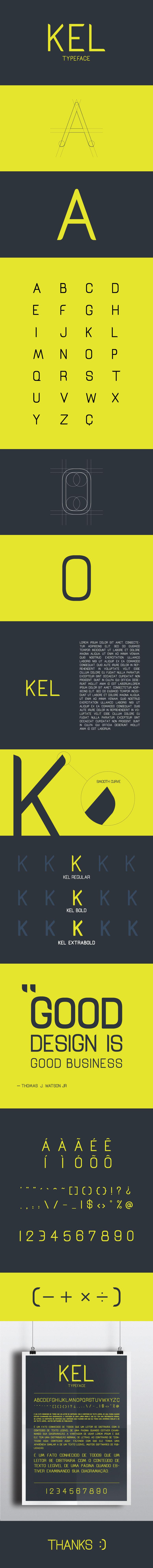 Projeto de fonte simples, san serif e free. Baixem a vontade!:)