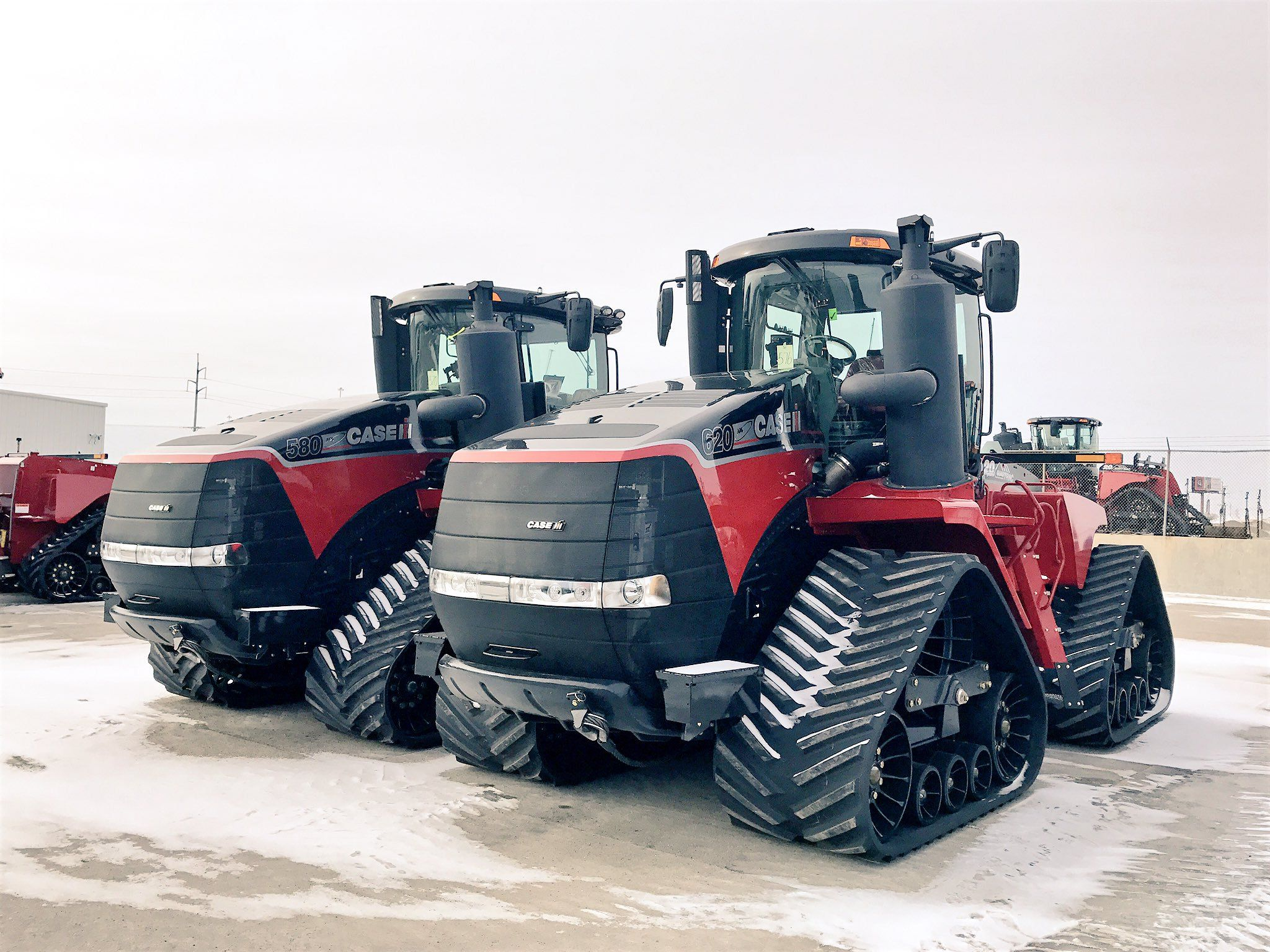 quadtrac red and black