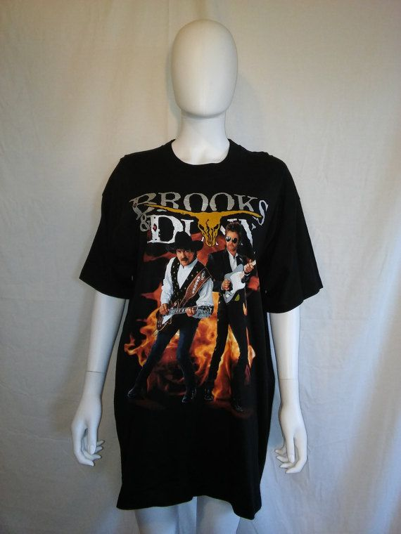 7e7b1b16 Brooks & Dunn t shirt 90's Electric Rodeo by ATELIERVINTAGESHOP ...