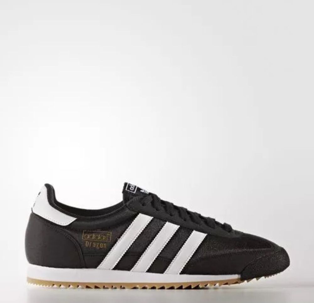 black adidas dragons trainers