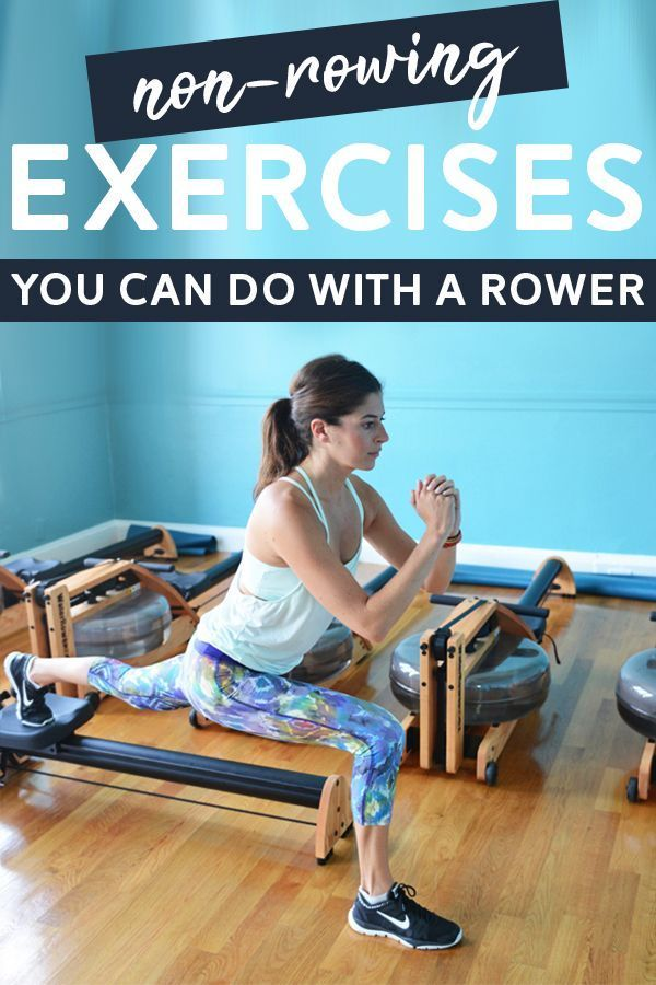 5 Non-Rowing Exercises You Can Do on a Rowing Machine - Try incorporating these creative uses for a...