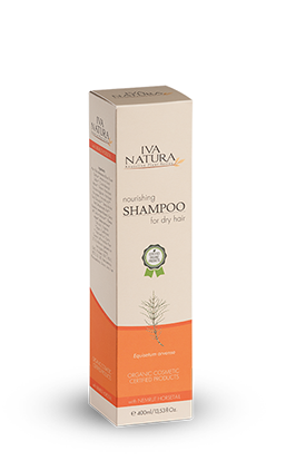 Iva Natura Organic Certified organic natural hair care shampoo for dry hair
