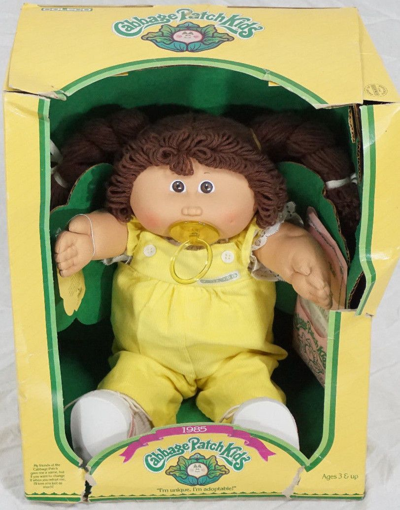 Cabbage Patch Kids Doll By Coleco 1985 Xavier Roberts Box Adoption Papers Cabbage Patch Kids Dolls Cabbage Patch Kids Cabbage Patch Dolls
