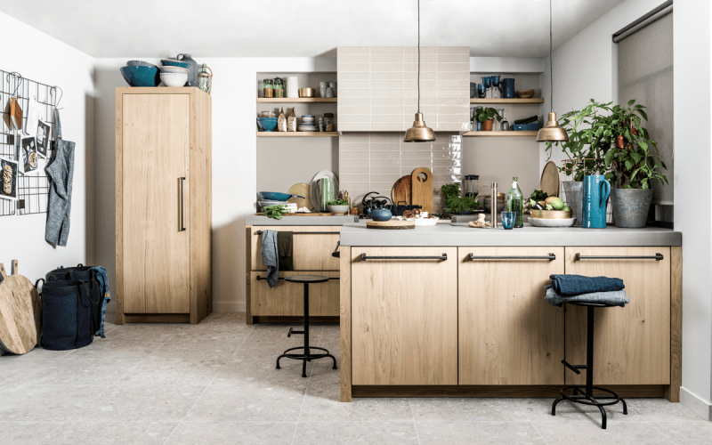 Interieur de keukentrends  op woon