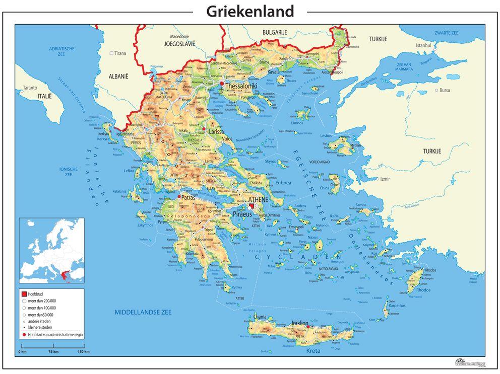 Griekenland Op Kaart Van Europa Google Zoeken Met Afbeeldingen