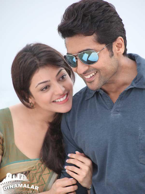 Suriya And Kajal Aggarwal Veethi Bollywood Celebrities Brothers Movie Tamil Movies