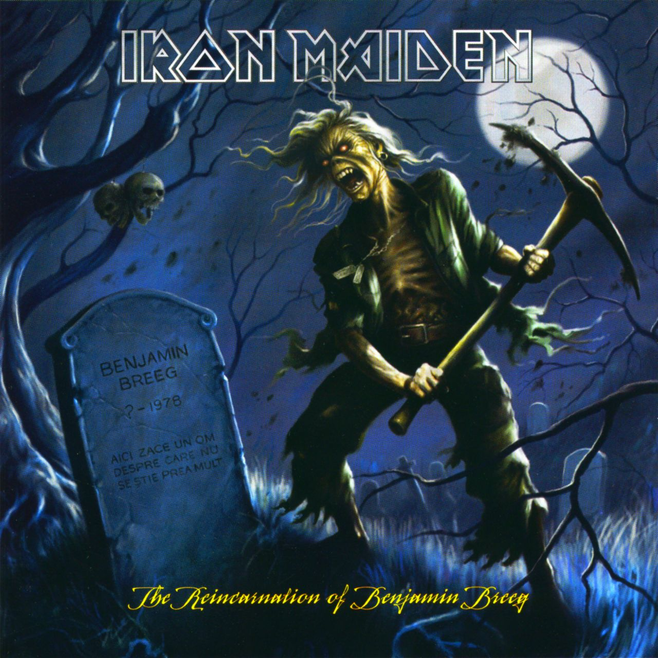 Iron Maiden A Matter Of Life And Death Album Cover
