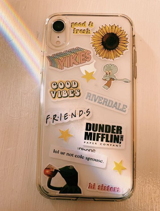 Best Ways To Decorate With Stickers Tumblr Phone Case Iphone