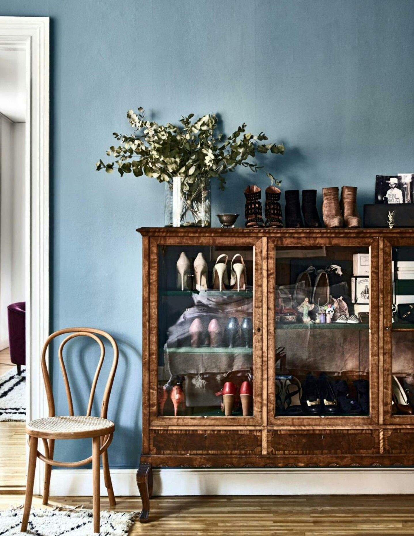 10 Perfect Scandinavian Blue Paint Colors For Your Home Coco Kelley Bohemian Chic Home Interior Home