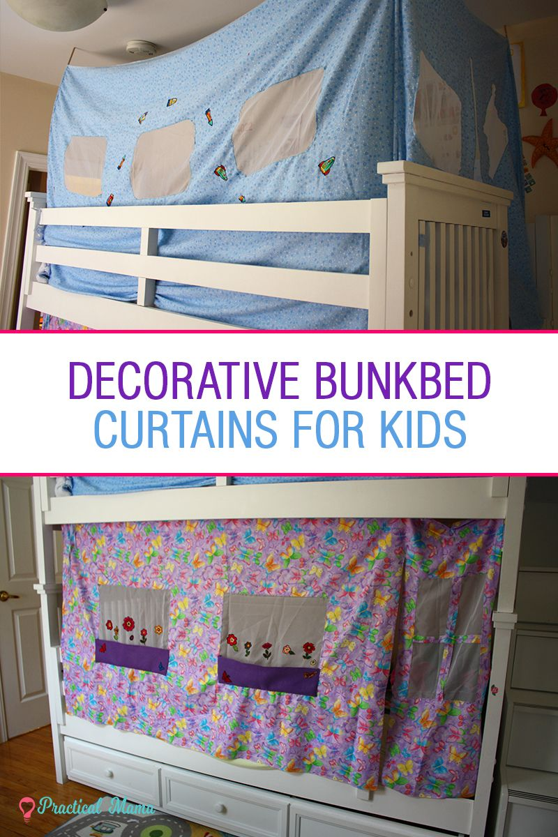 Decorative Bunk Bed Curtains For Children Diy Projects