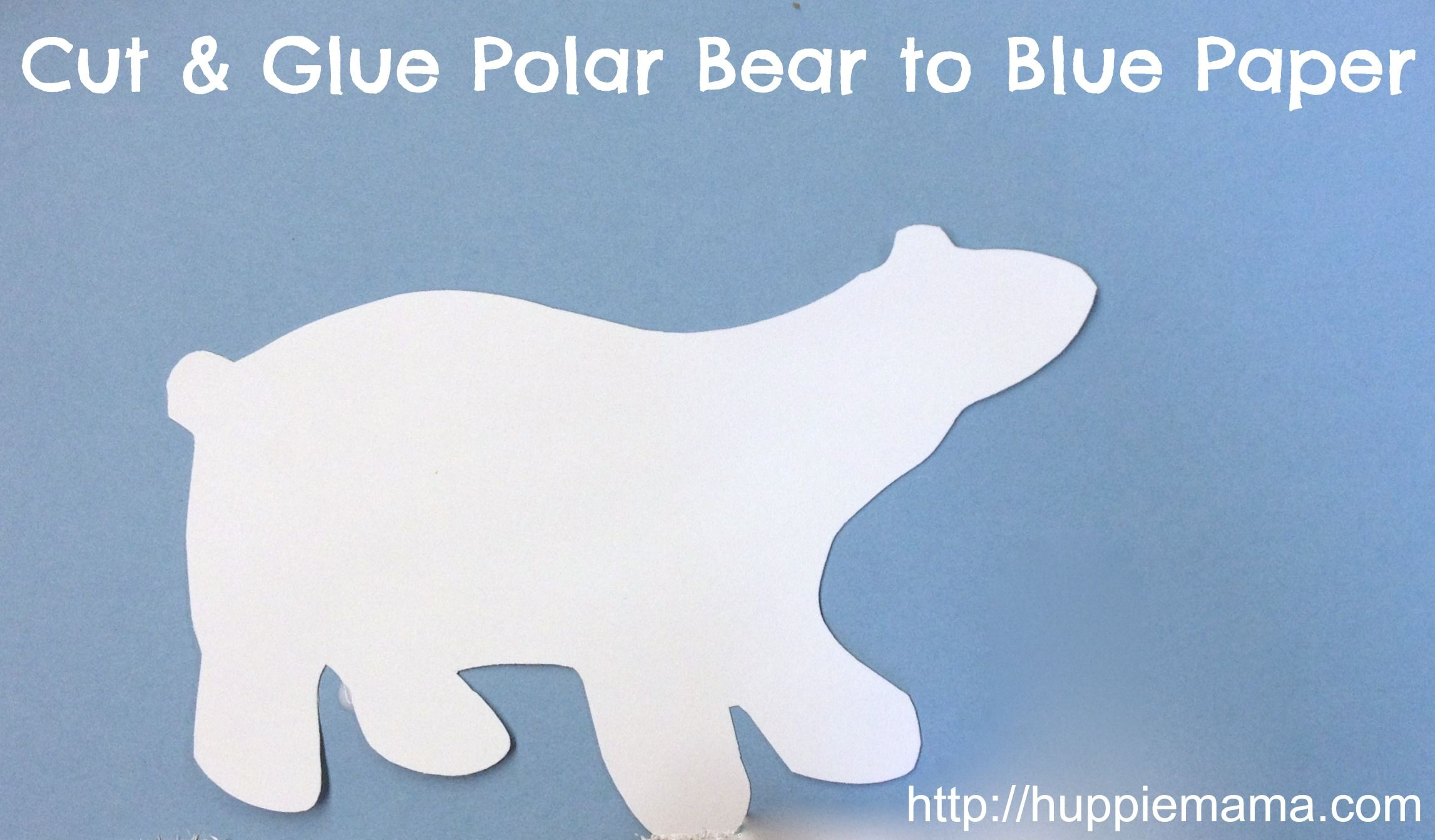 Polar Bear What Do You Hear Crafts Mix White Textured Paint By Combining Regular Tempera With Sand