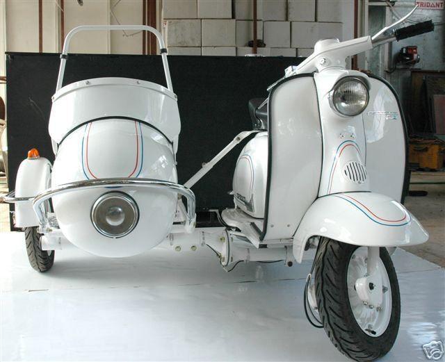 1959 Lambretta Sidecar