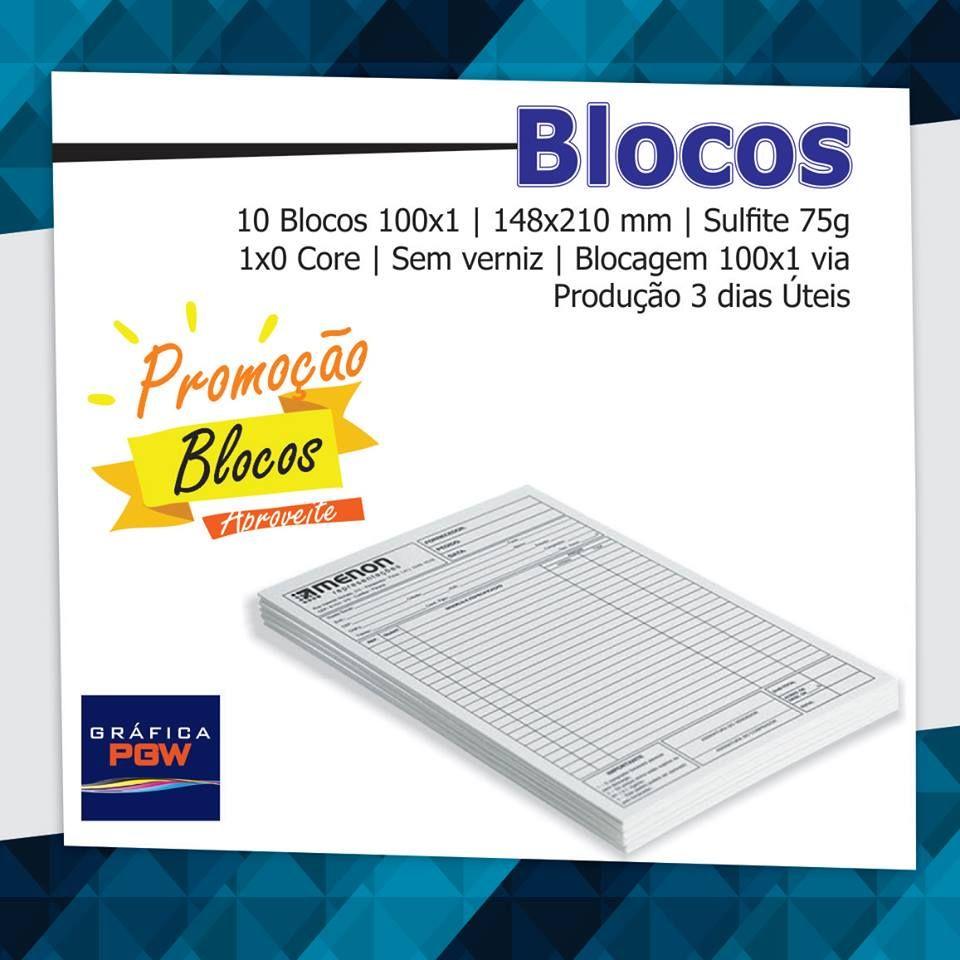 Chegou a sexta feira, vamos deixar tudo preparado para próxima semana. Venha conferir nossos talões de pedidos e blocos. Acesse o site: www.graficapgw.com.br