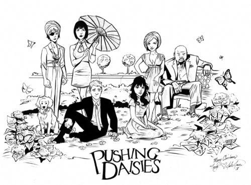 Pushing Daisies cast by Joelle Jones