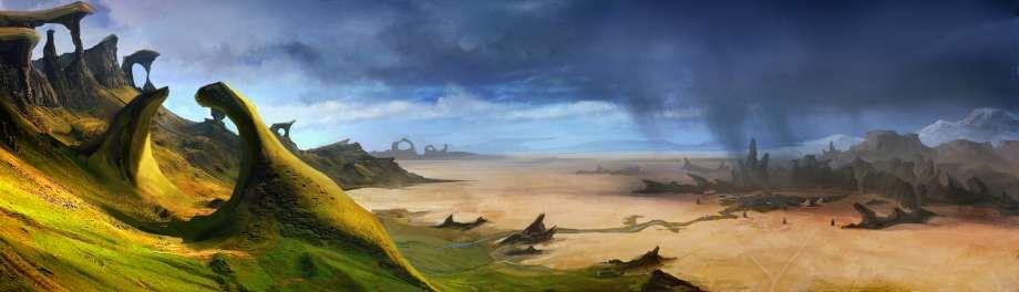 Grasslands - Grass Desert Transition