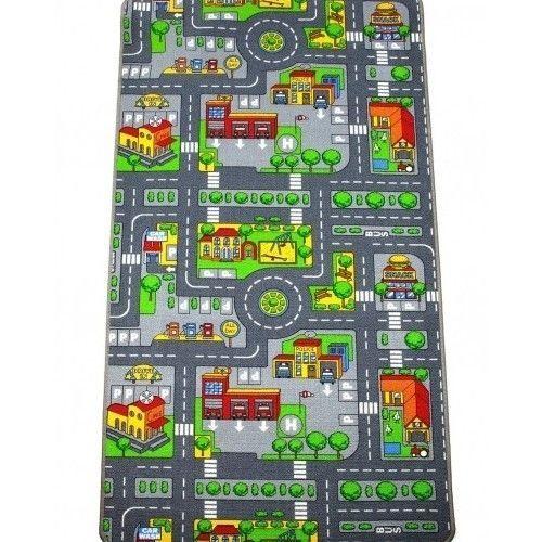 kids road play mat rug car map large bedroom childrens toy carpet floor rugs boy