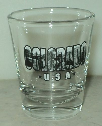 Colorado USA Shot Glass Scenic Stars Shooter - This Item is for sale at LB General Store http://stores.ebay.com/LB-General-Store ~Free Domestic Shipping