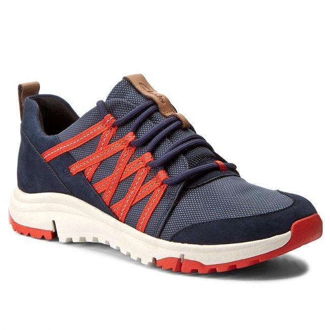 7dc85a10309 Κοντά μποτάκια CLARKS - Tri Trail 261268094 Navy Combi | shoes ...
