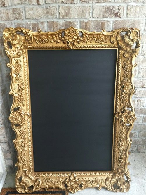 Pin By Lightfolly On Pretty Stuff Gold Picture Frames Ornate Picture Frames 20x30 Picture Frame