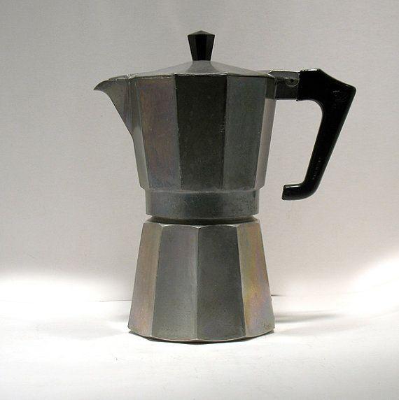 Vintage Espresso Maker Moka Pot Stove Top Coffee