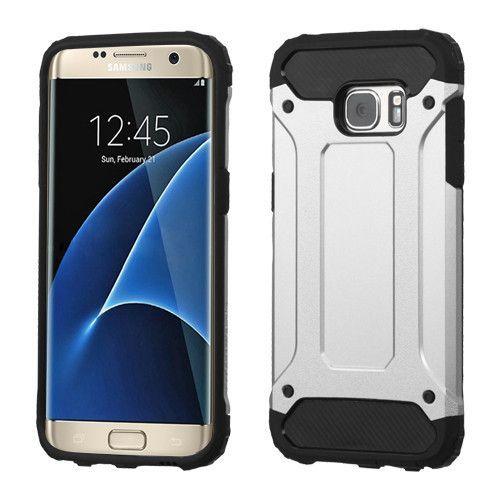 Mybat Hybrid Armor Gear Galaxy S7 Edge Case Silver Samsung Galaxy S7 Edge Galaxy S7 Edge Cases Galaxy