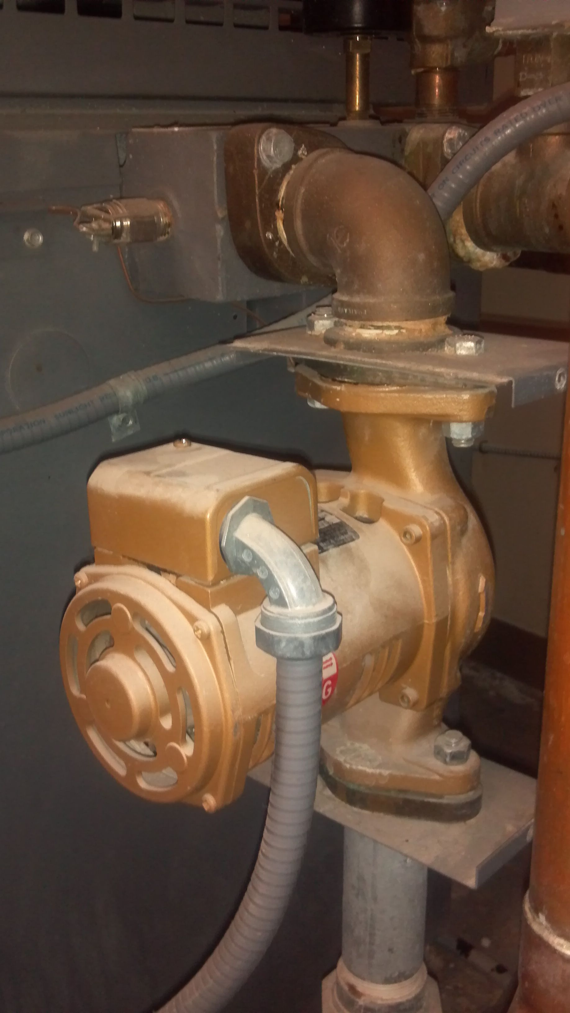 Boiler Pump Gone Bad Plumberx Pinterest Soldering Copper Pipe