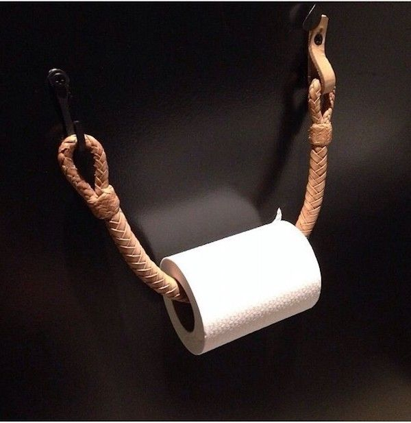 Photo of Simple fancy and DIY toilet roll holder for DIY