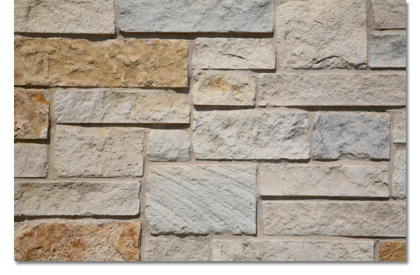 Limestone capitol products texas mix stone patterns for Mixing brick and stone