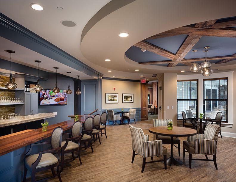 The Glen At Lake Oconee Il Lounge Senior Living Design Living Design Senior Living