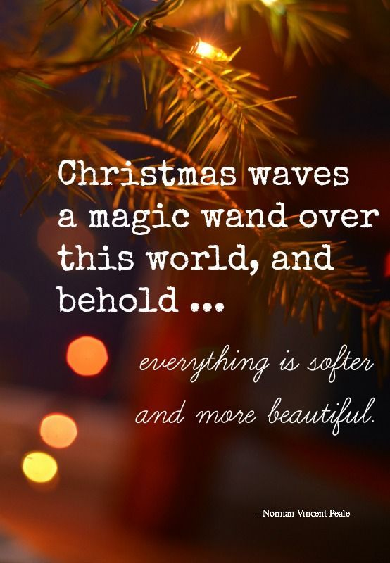 Nothing Is As Magical As Christmas! Love All These Quotes! Http://