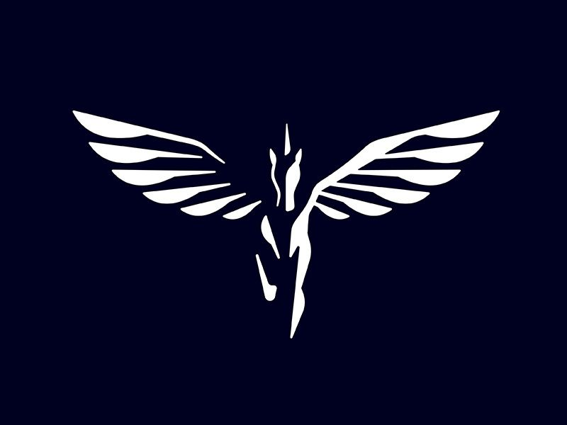 Pegasus Logo Was Sold Pegasus Logo Logo Design Art Pegasus Art