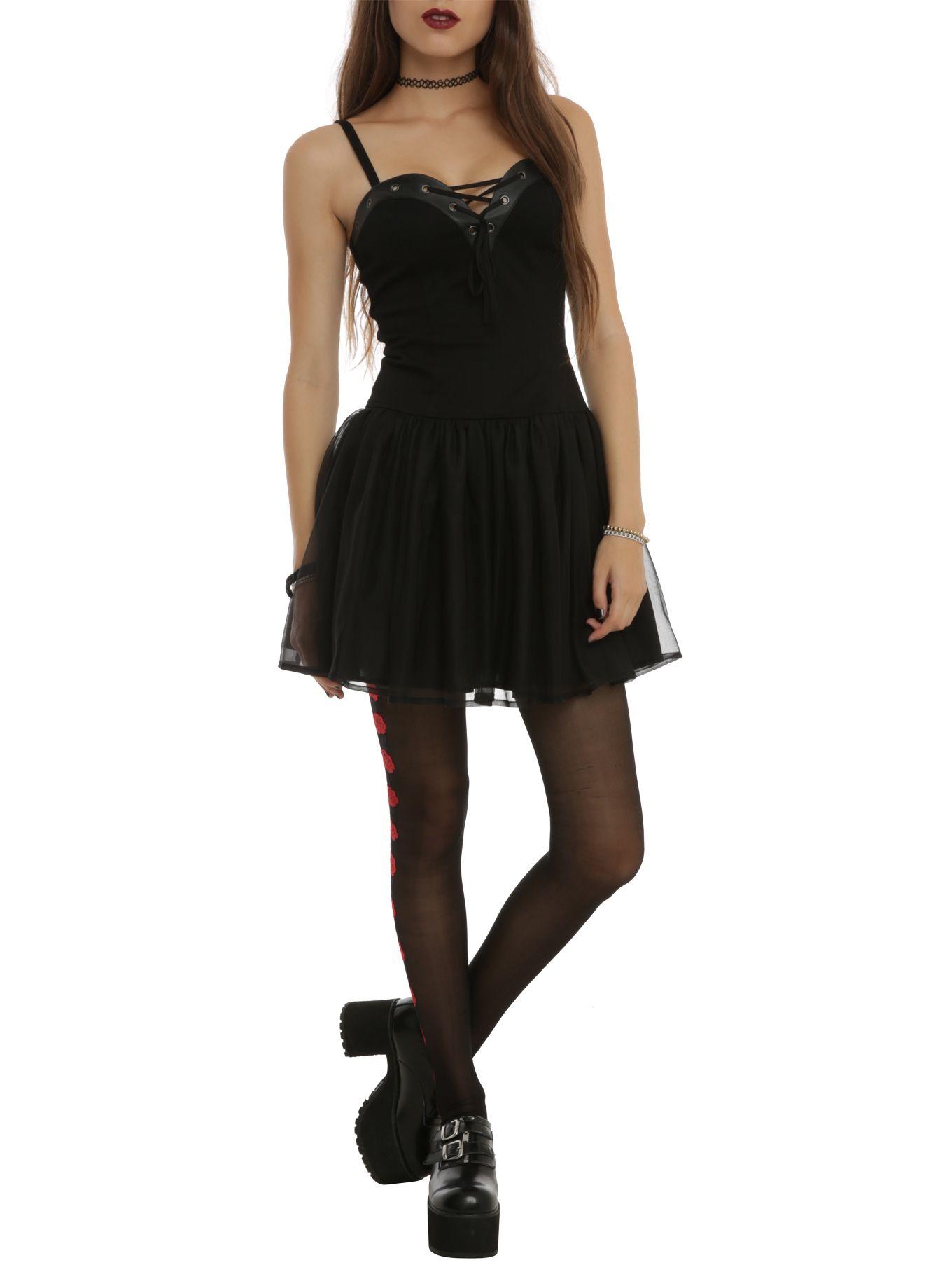 Royal Bones Black Corset Dress Dressed To Kill Dresses Black