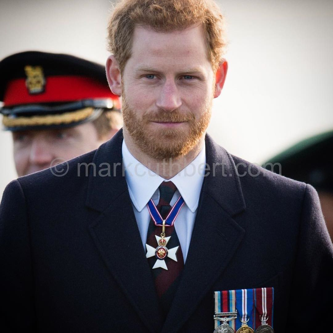Prince Harry representing the Queen at the Sovereign s Parade at