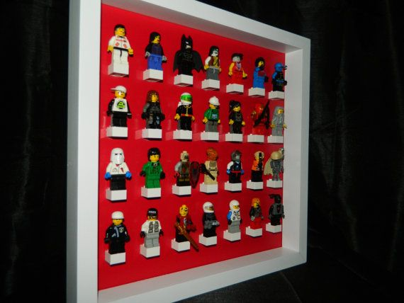 Display case For LEGO Minifigures. Could Make This! | Home Decor ...