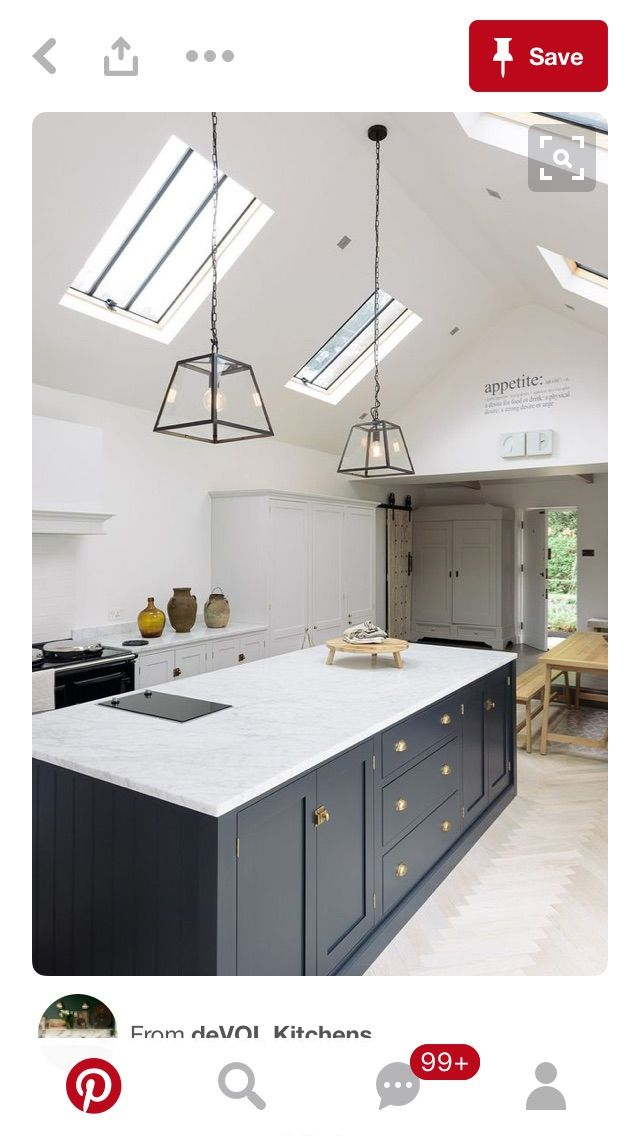 Velux for listed buildings | kitchen ideas | Pinterest