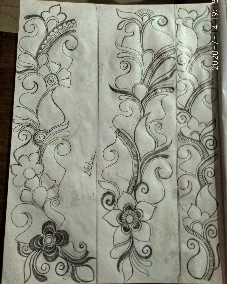 Pencil Mehndi Design Mehndi Designs Mehndi Art Designs Mehndi Designs Book