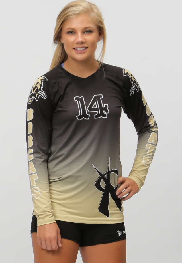 Fade Womens Sublimated Jersey Volleyball Jerseys Volleyball Uniforms Volleyball Jersey Design