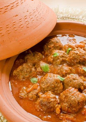 Tajine de boulettes de kefta à la marocaine