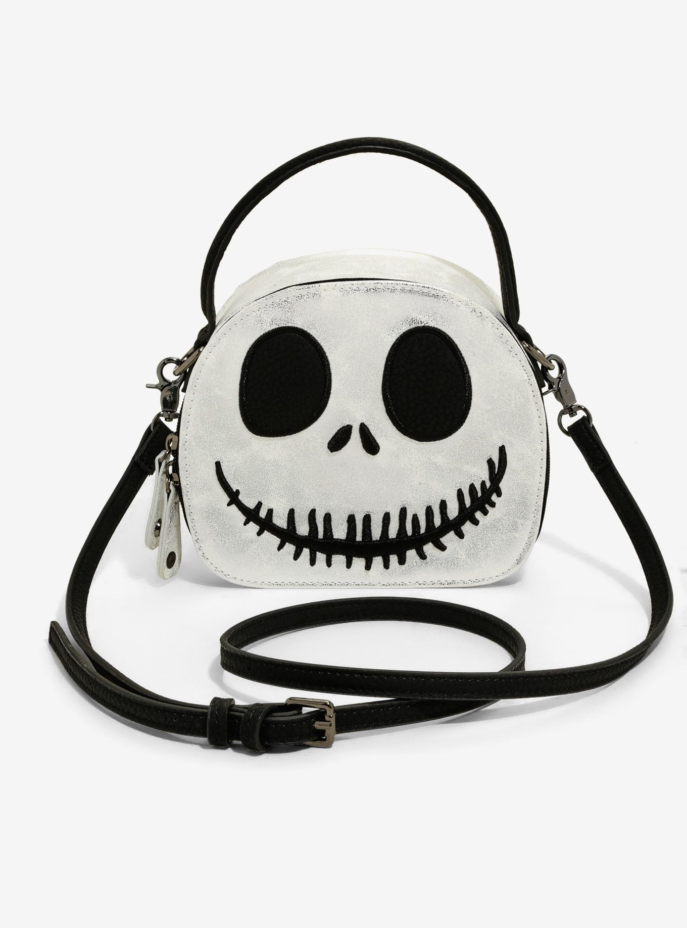 f63f45a79d2b The Nightmare Before Christmas Jack Mini Hatbox Crossbody Bag in ...