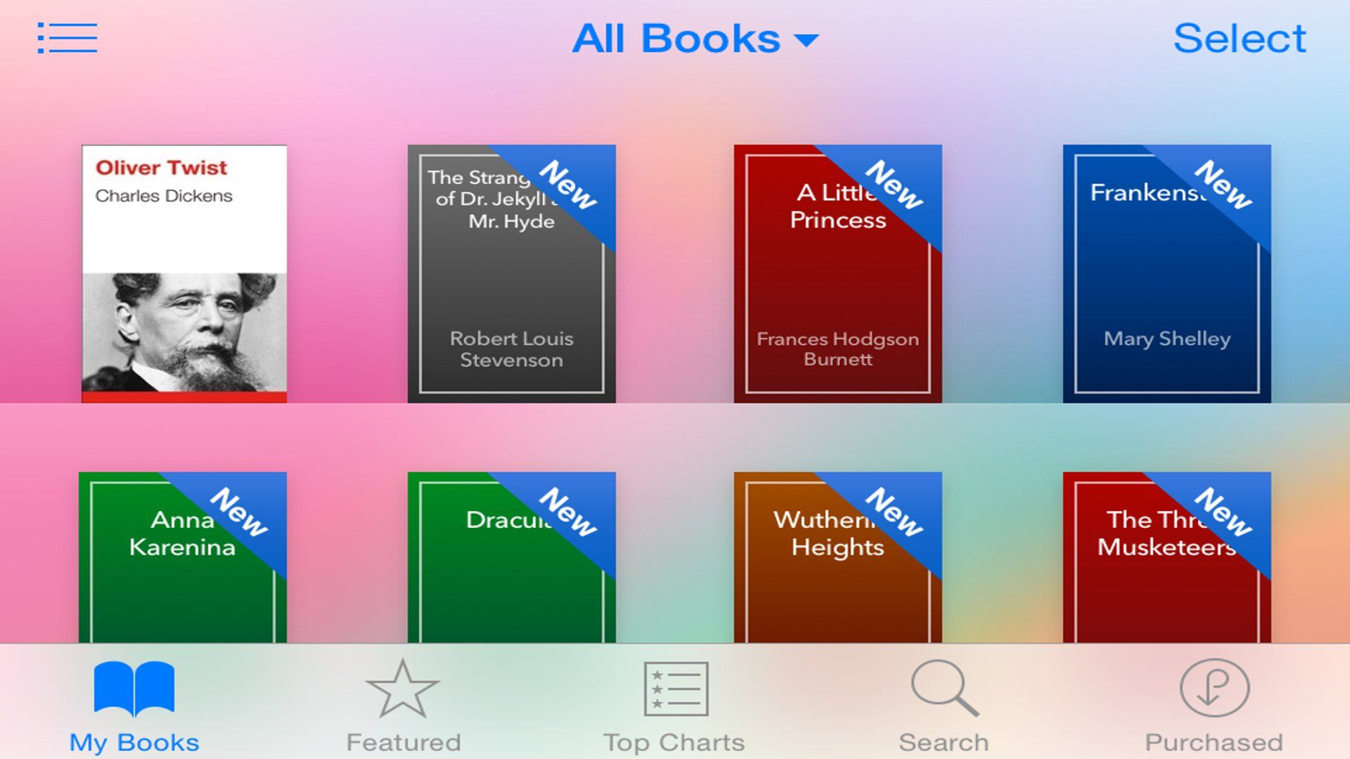 How to hide deleted purchased books from ibooks in iphone