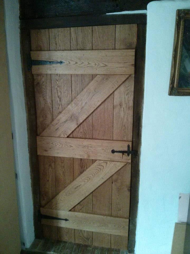 Oak door treated with Wood Wax Finish (3143 Cognac) by SBT Design. & Oak door treated with Wood Wax Finish (3143 Cognac) by SBT Design ...
