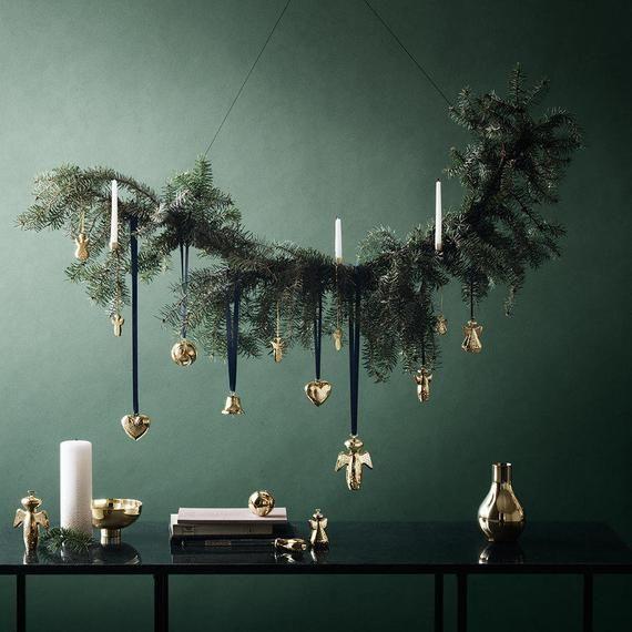 Georg Jensen Brass Ilse Bowl Small New #weihnachtsdeko2019trend
