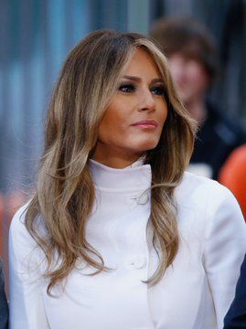 Pin By Mdl Smeding On Princess In Waiting Trump Hair First Lady Melania Trump First Lady