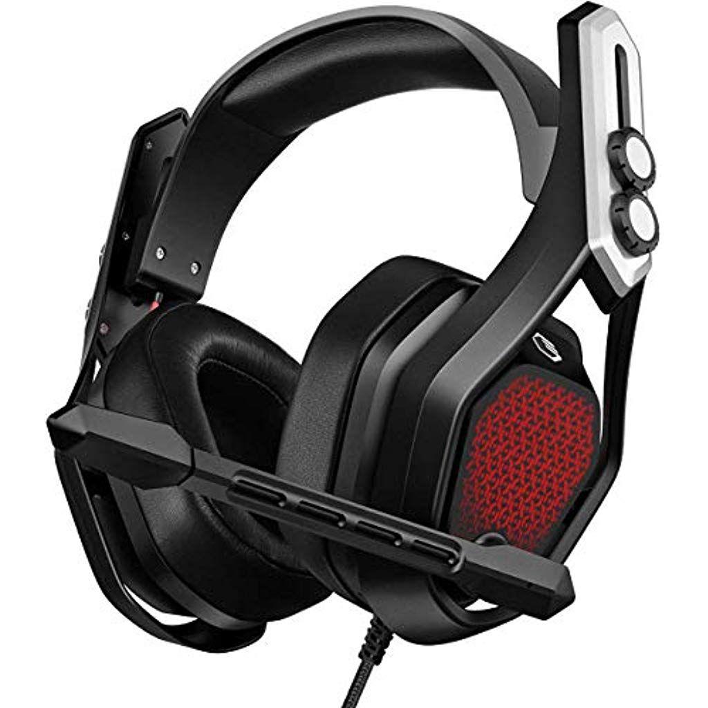 Mpow Iron Gaming Headset Ps4 Pc Headset7 1surround Sound Soft