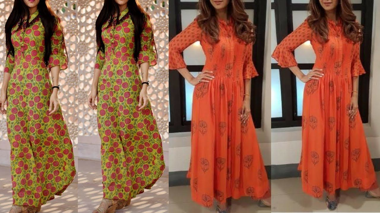 Cotton Maxi Dress Designs For