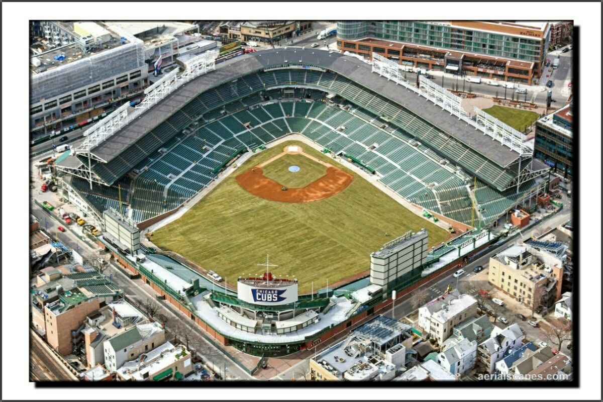 Wrigley Field: Construction Season Has Ended (04/02/2018)   Chicago ...