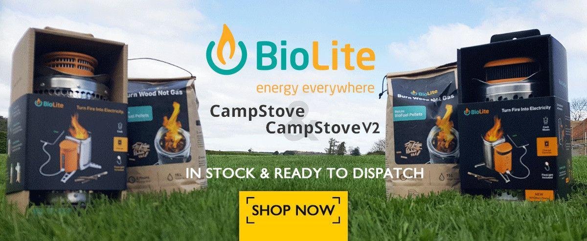 Biolite Campstove & Campstove V2
