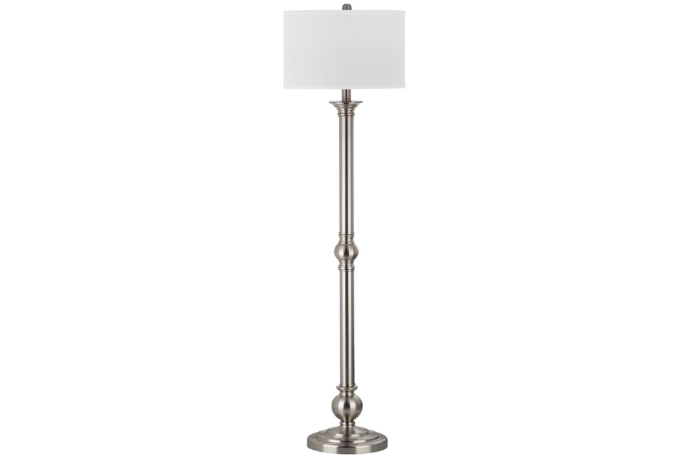 Nickel Finish 60 Floor Lamp Ashley Furniture Homestore Floor