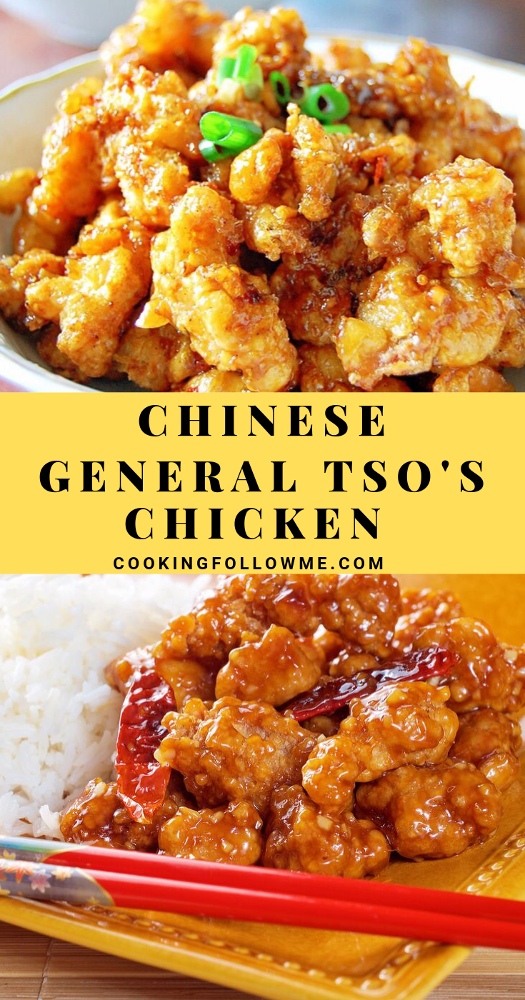 General Tso S Chicken Cooking Follow Me Com Recipe General Tso Chicken Cooking Tso Chicken
